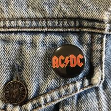 AC/DC button 25mm 1inch