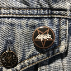 ANTHRAX button 25mm 1inch