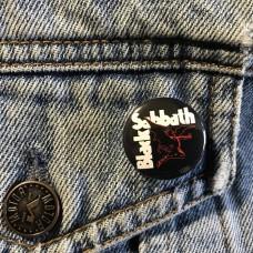 BLACK SABBATH button 25mm 1inch