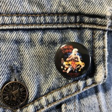 CANNIBAL CORPSE button  Eaten Back To Life 25mm 1inch