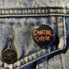CANNIBAL CORPSE button 25mm 1inch