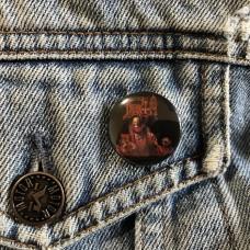 DEATH button Scream Bloody Gore 25mm 1inch