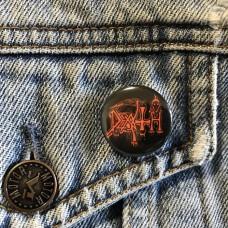 DEATH button 25mm 1inch