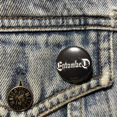 ENTOMBED button logo 25mm 1inch