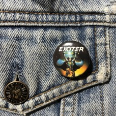 EXCITER button Long Live the Loud 25mm 1inch