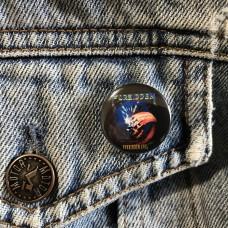 FORBIDDEN button 25mm 1inch