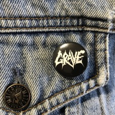 GRAVE button 25mm 1inch