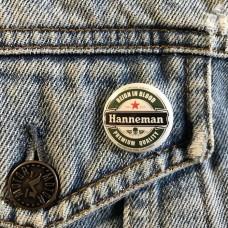 HANNEMANN button Slayer 25mm 1inch