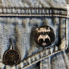 HELLHAMMER button 25mm 1inch