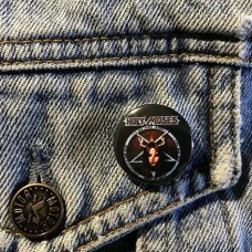 HOLY MOSES button 25mm 1inch