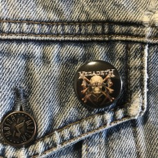 MEGADETH button Killing Is My Business 25mm 1inch