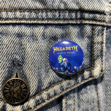 MEGADETH button Rust In Peace 25mm 1inch