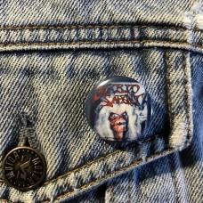 MORBID SAINT button 25mm 1inch