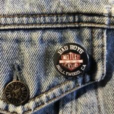 MOTLEY CRUE button 25mm 1inch