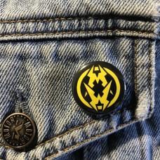 MUNICIPAL WASTE button 25mm 1inch