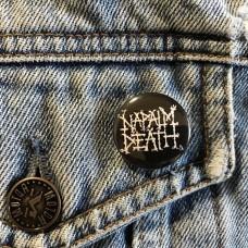 NAPALM DEATH button 25mm 1inch