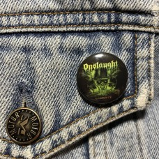 ONSLAUGHT button 25mm 1inch
