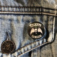OVERKILL button 25mm 1inch