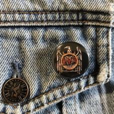 SLAYER button Eagle 25mm 1inch