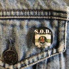 S.O.D. button Speak English Or Die sod 25mm 1inch
