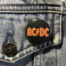 AC/DC button 32mm 1.25inch
