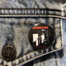 ANNIHILATOR button Alice In Hell 32mm 1.25inch