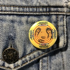 ANTHRAX button State Of Euphoria 32mm 1.25inch