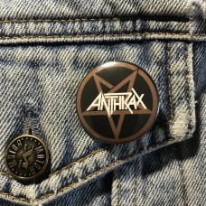 ANTHRAX button 32mm 1.25inch