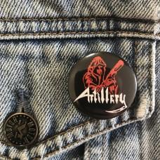ARTILLERY button 32mm 1.25inch