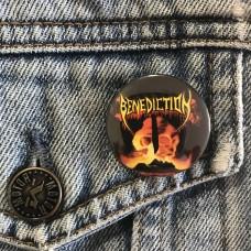 BENEDICTION button Subconscious Terror 32mm 1.25inch