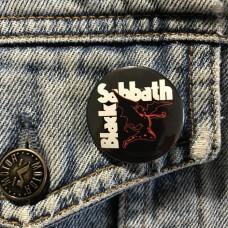 BLACK SABBATH button 32mm 1.25inch