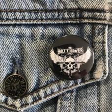 BOLT THROWER button 32mm 1.25inch