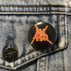 DARK ANGEL button 32mm 1.25inch