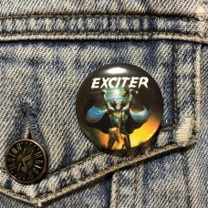 EXCITER button Long Live the Loud 32mm 1.25inch