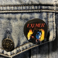 EXUMER button Possessed By Fire 32mm 1.25inch