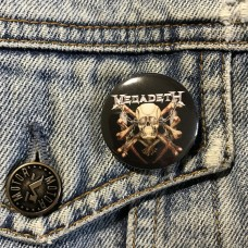 MEGADETH button Killing Is My Business 32mm 1.25inch