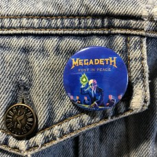 MEGADETH button Rust In Peace 32mm 1.25inch