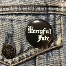 MERCYFUL FATE button logo 32mm 1.25inch