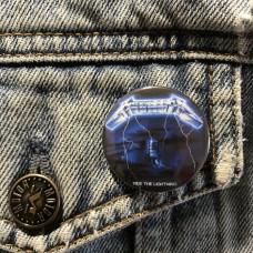 METALLICA button Ride The Lightning 32mm 1.25inch