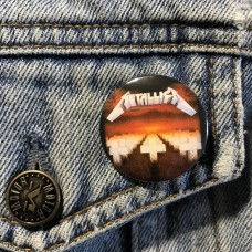 METALLICA button Master Of Puppets 32mm 1.25inch