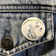 METALLICA button And Justice For All 32mm 1.25inch