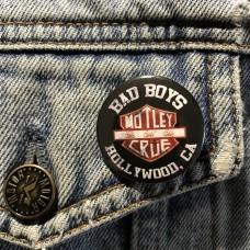 MOTLEY CRUE button 32mm 1.25inch