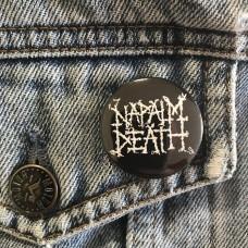 NAPALM DEATH button 32mm 1.25inch