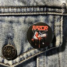 RAZOR button Violent Restitution 32mm 1.25inch