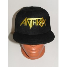ANTHRAX snapback hat baseball cap