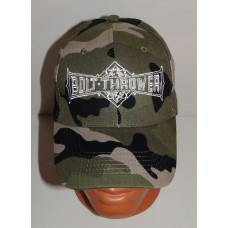 BOLT THROWER camo baseball cap hat