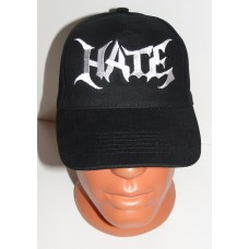 HATE baseball cap hat