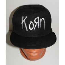 KORN snapback baseball cap hat embroidered logo