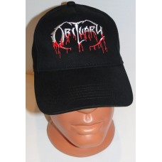 OBITUARY baseball cap hat