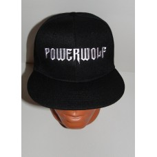 POWERWOLF snapback baseball cap hat embroidered logo